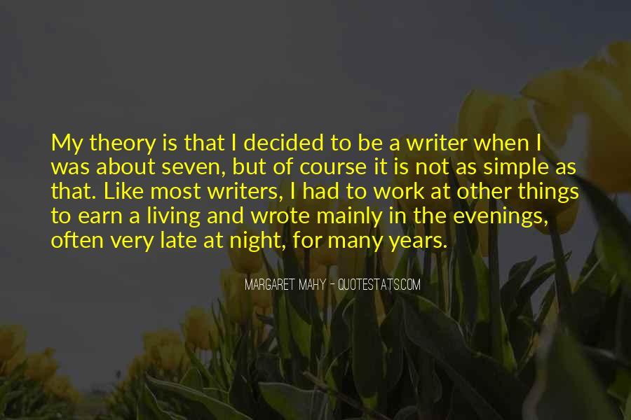 Margaret Mahy Quotes #288078