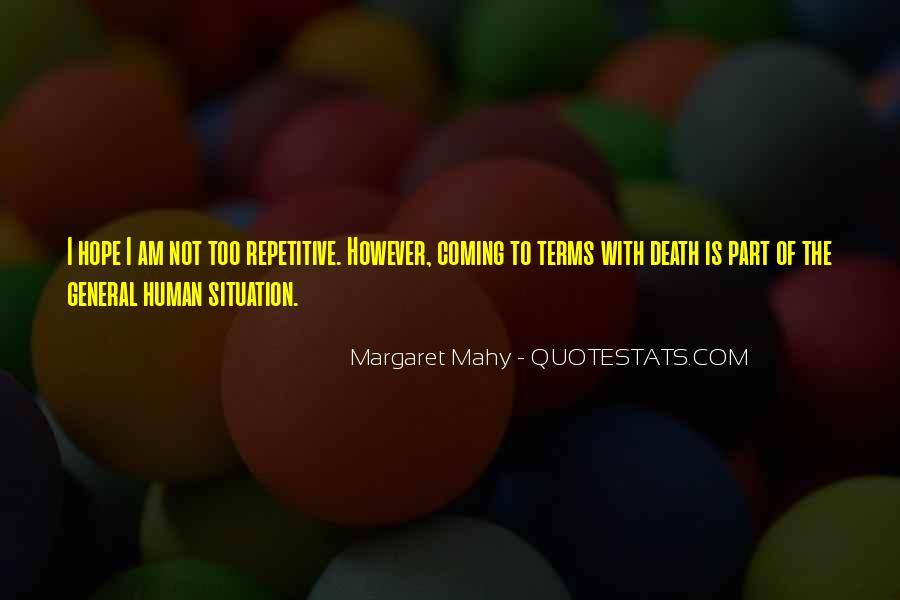 Margaret Mahy Quotes #941280