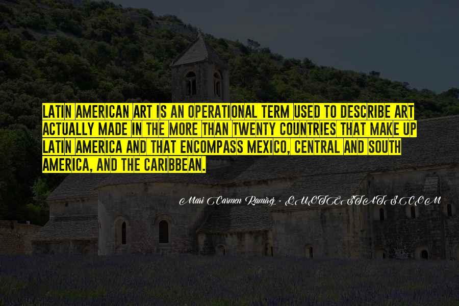 Mari Carmen Ramirez Quotes #15664