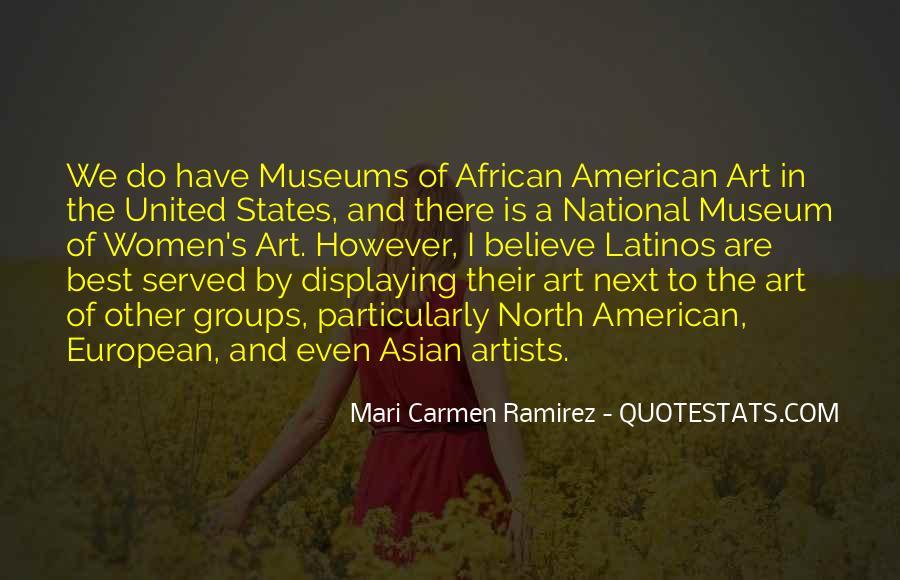 Mari Carmen Ramirez Quotes #328000