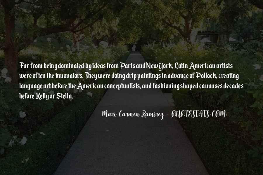 Mari Carmen Ramirez Quotes #980817