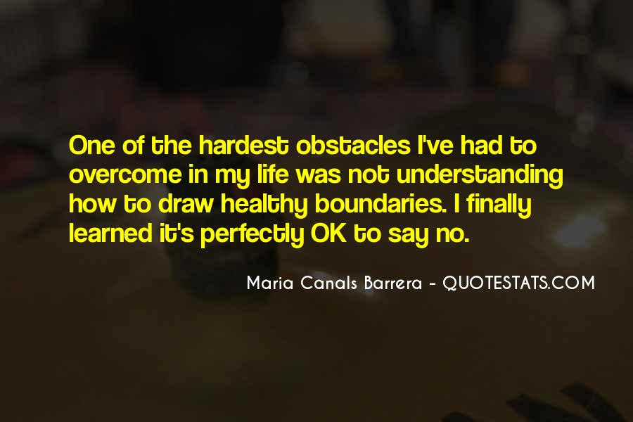 Maria Canals Barrera Quotes #1709119