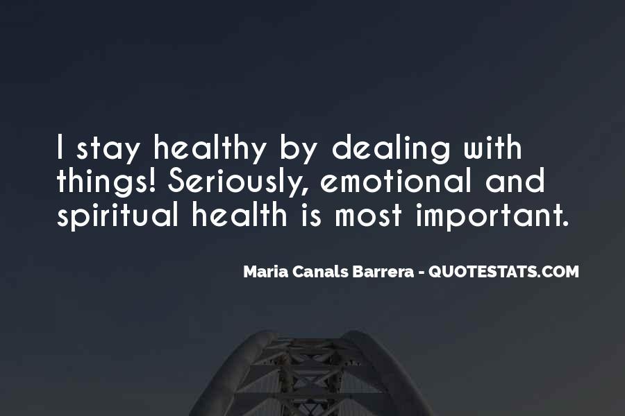 Maria Canals Barrera Quotes #1860562