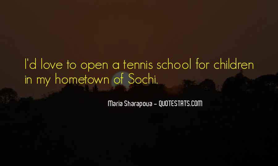Maria Sharapova Quotes #1037109