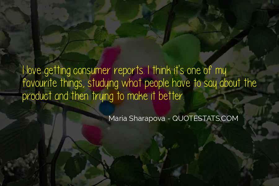 Maria Sharapova Quotes #1075267