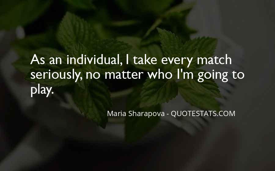 Maria Sharapova Quotes #1282766
