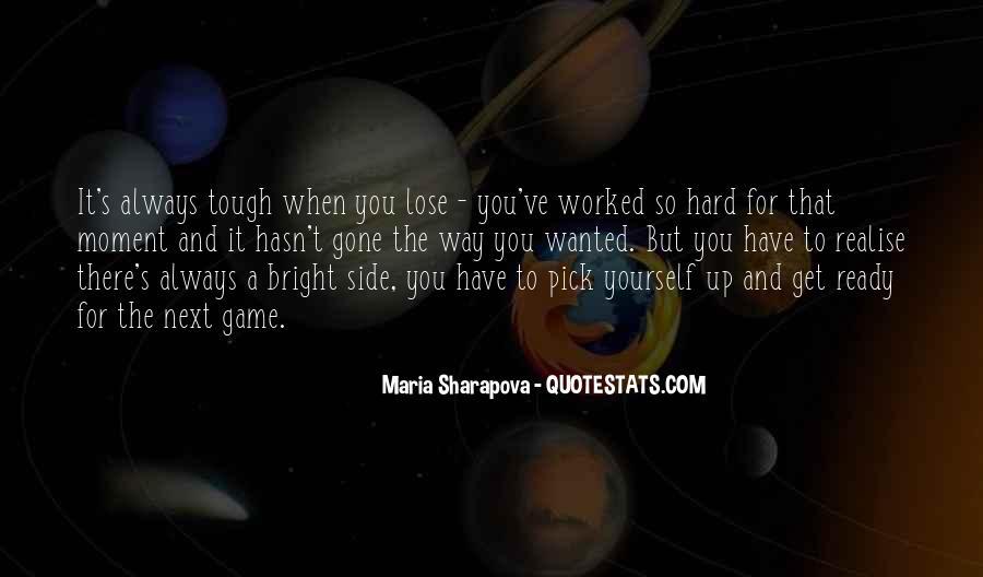 Maria Sharapova Quotes #1618194