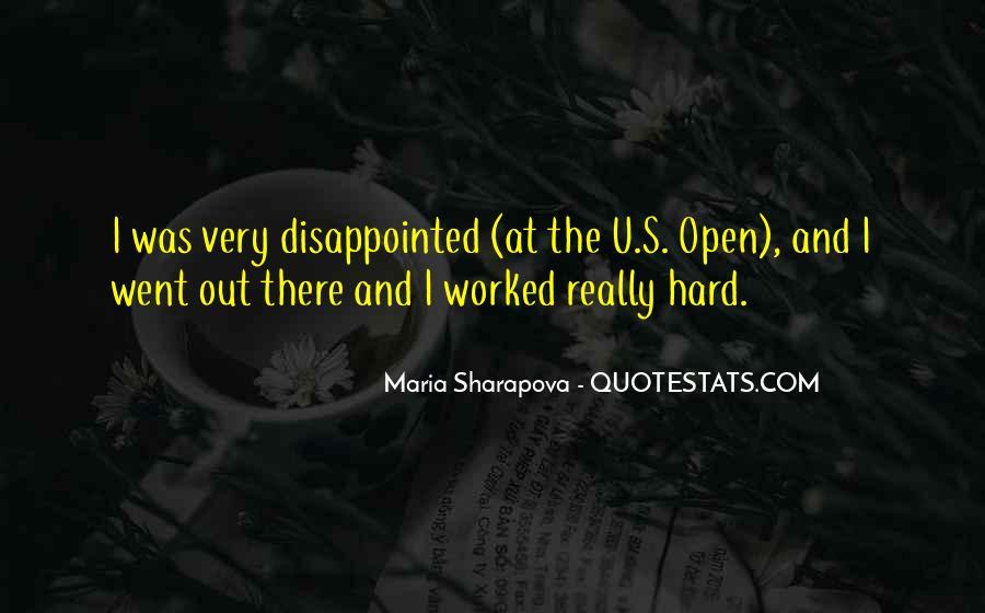 Maria Sharapova Quotes #1847893