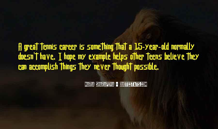Maria Sharapova Quotes #313151