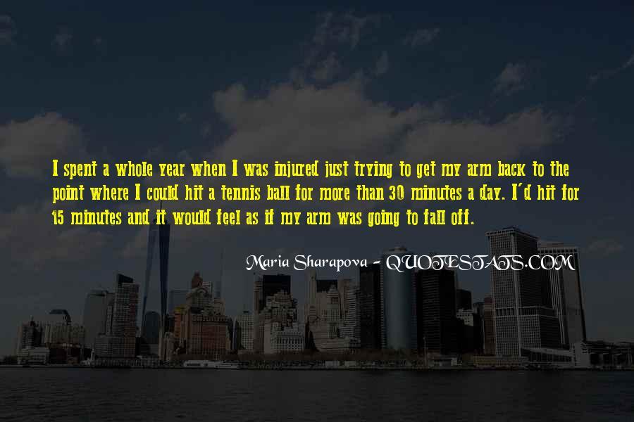 Maria Sharapova Quotes #460321