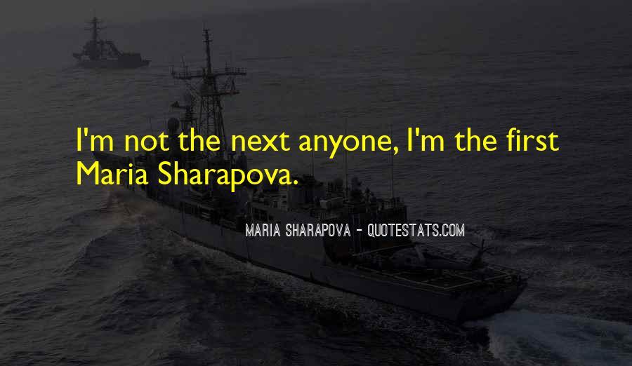 Maria Sharapova Quotes #63375