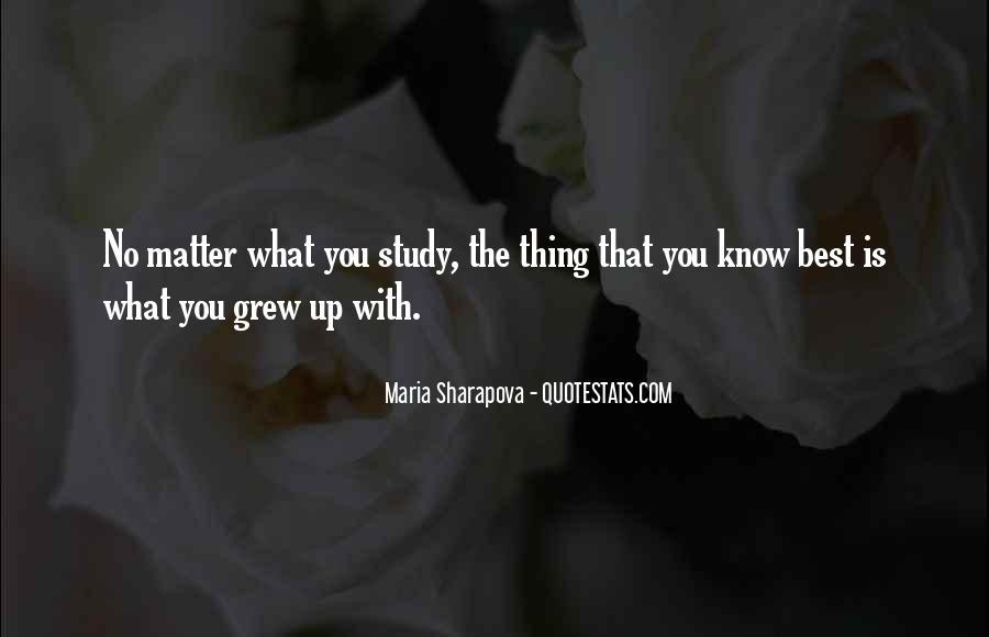 Maria Sharapova Quotes #742326
