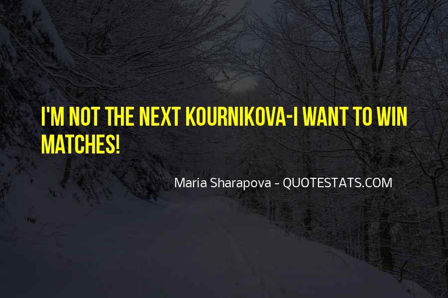 Maria Sharapova Quotes #82921