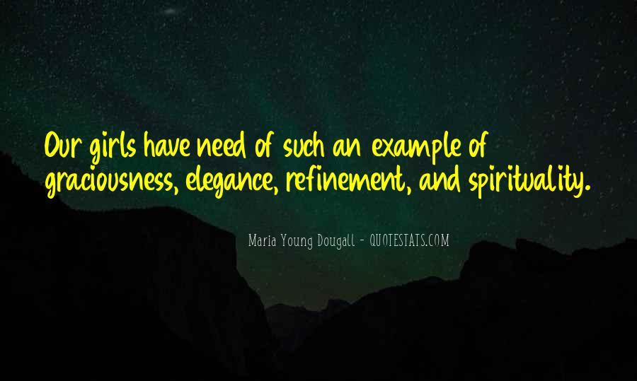 Maria Young Dougall Quotes #1641249