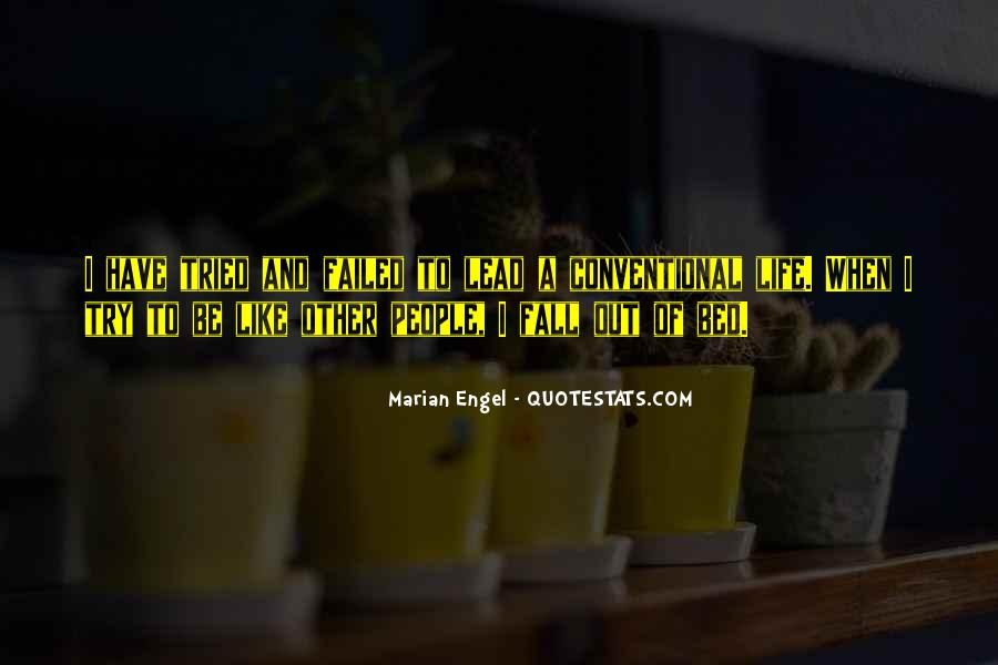 Marian Engel Quotes #1579616