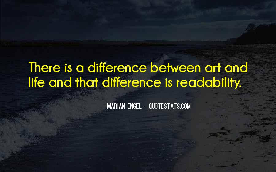 Marian Engel Quotes #359738