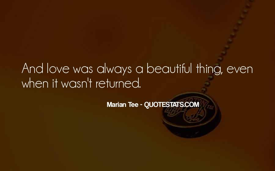 Marian Tee Quotes #112885
