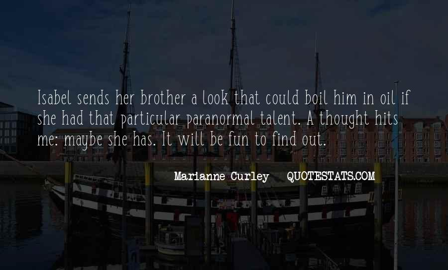 Marianne Curley Quotes #1121630