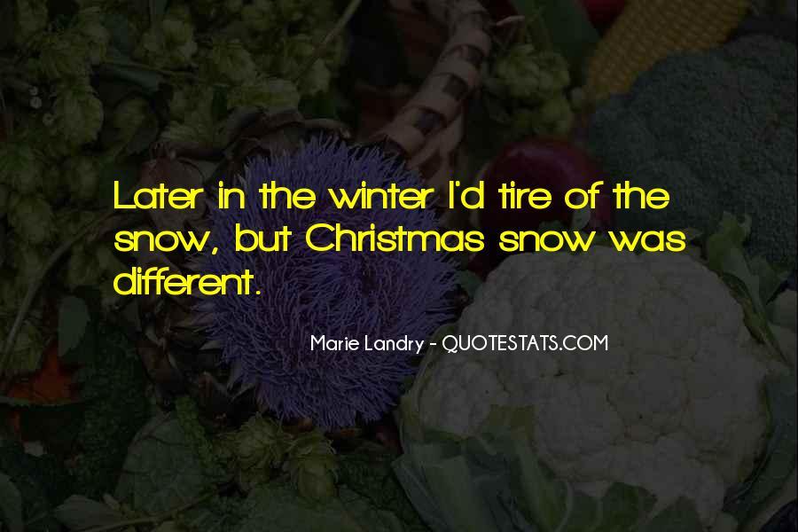 Marie Landry Quotes #999473