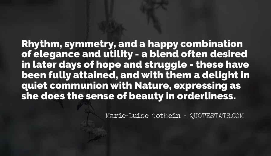 Marie-Luise Gothein Quotes #1138315