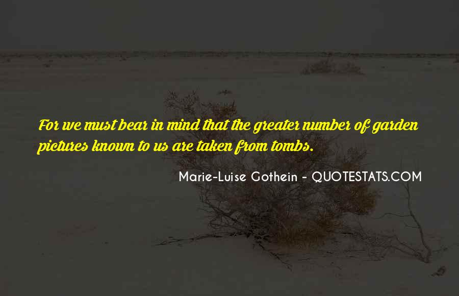 Marie-Luise Gothein Quotes #589422