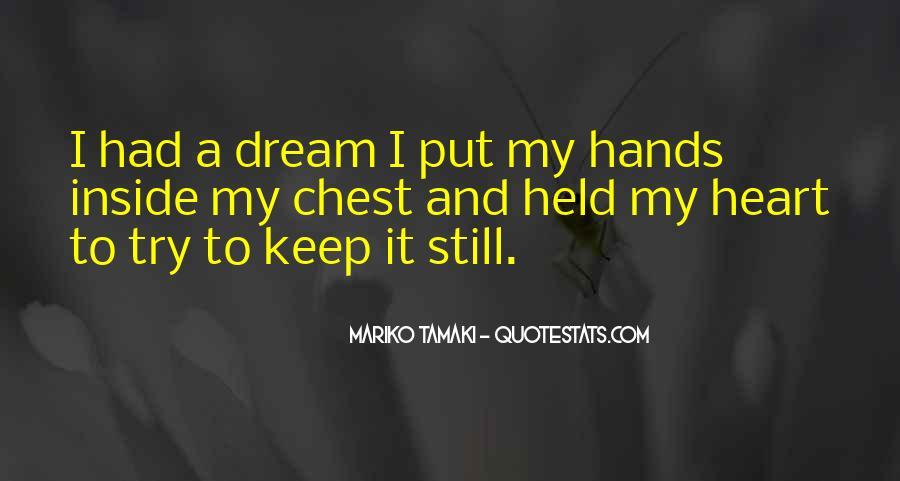 Mariko Tamaki Quotes #1485961