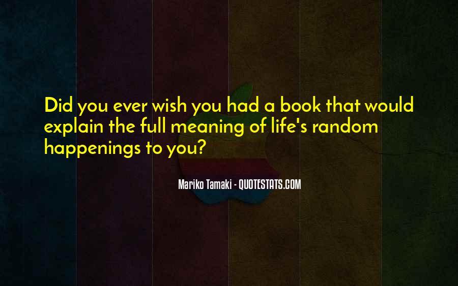 Mariko Tamaki Quotes #1602991