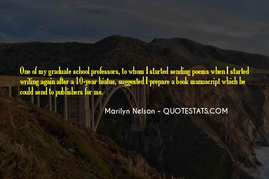Marilyn Nelson Quotes #531533