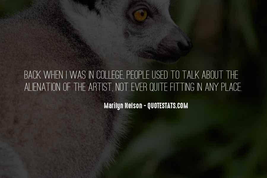 Marilyn Nelson Quotes #848446