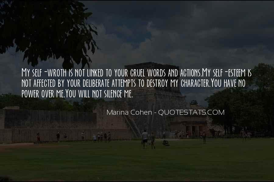 Marina Cohen Quotes #576800