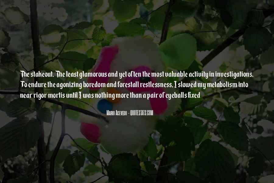 Mario Acevedo Quotes #716305
