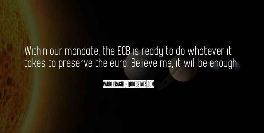 Mario Draghi Quotes #481851