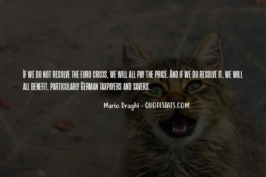 Mario Draghi Quotes #753833