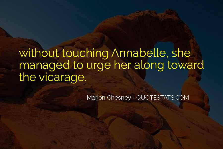 Marion Chesney Quotes #420100