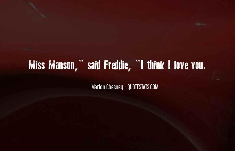 Marion Chesney Quotes #634169