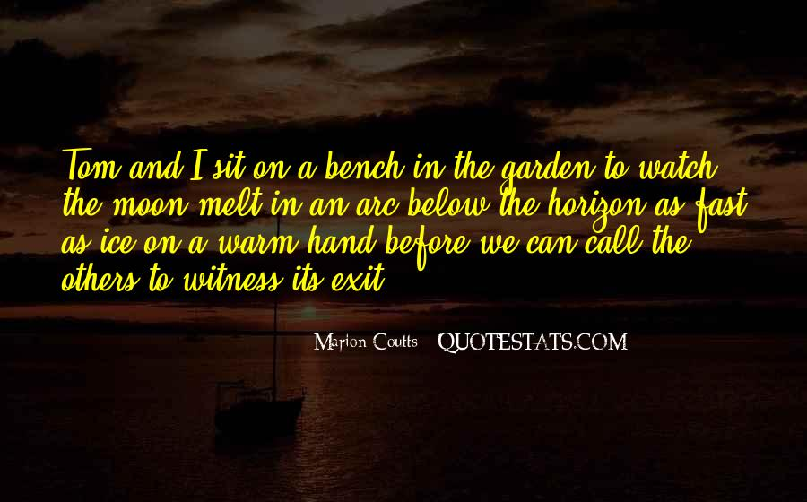 Marion Coutts Quotes #1663176