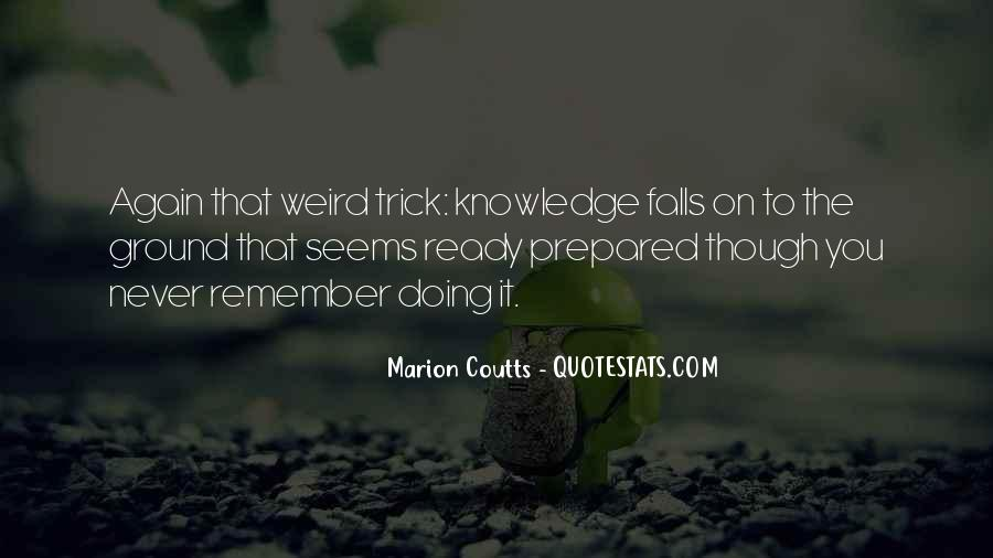 Marion Coutts Quotes #438033