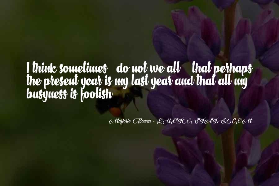 Marjorie Bowen Quotes #1496116