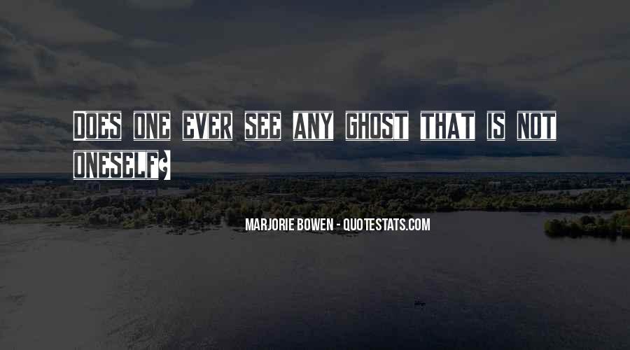 Marjorie Bowen Quotes #429144