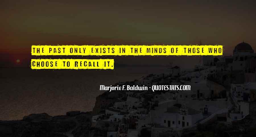 Marjorie F. Baldwin Quotes #309335