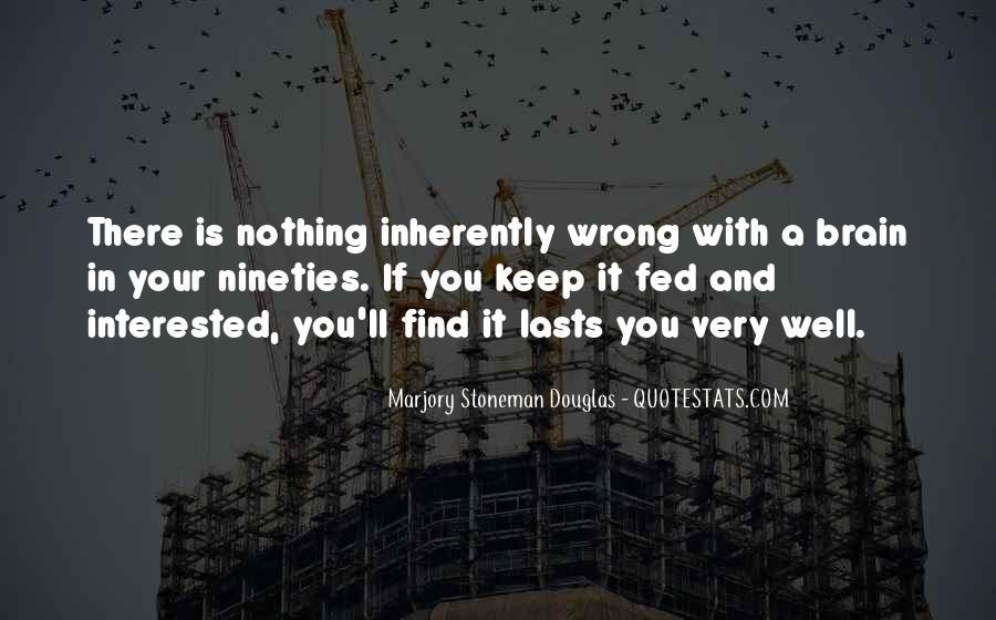 Marjory Stoneman Douglas Quotes #652343