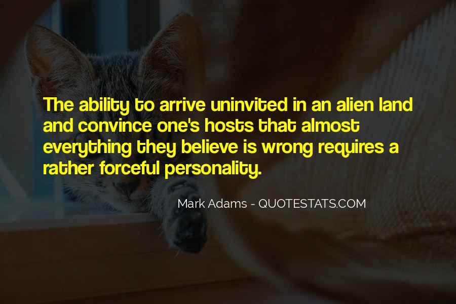 Mark Adams Quotes #928004