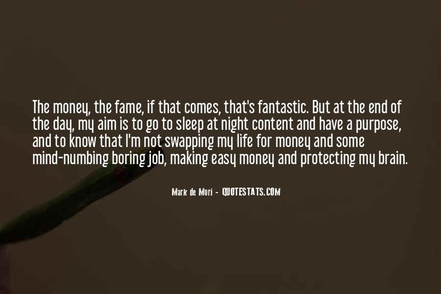 Mark De Mori Quotes #1671072
