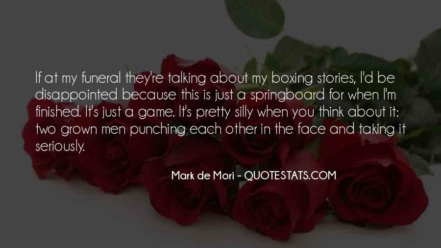Mark De Mori Quotes #975114