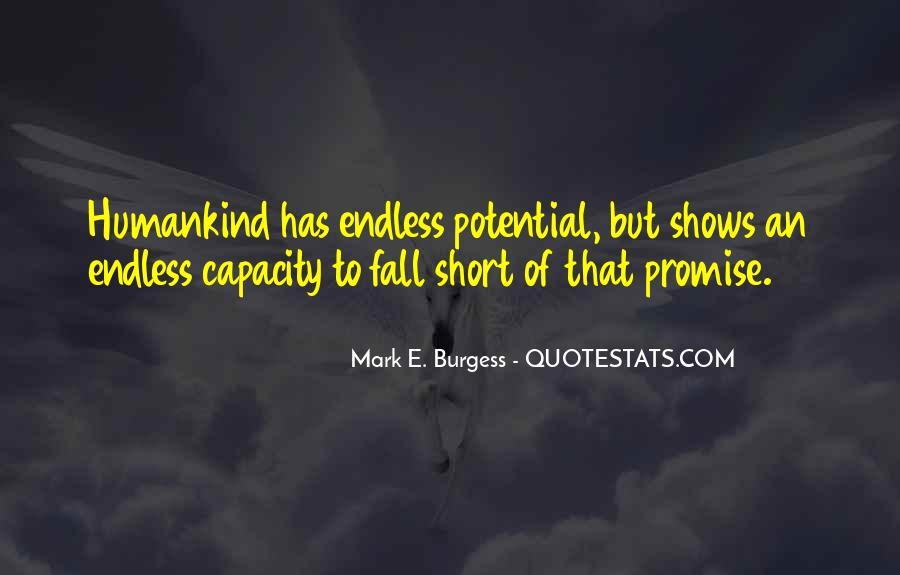 Mark E. Burgess Quotes #400109