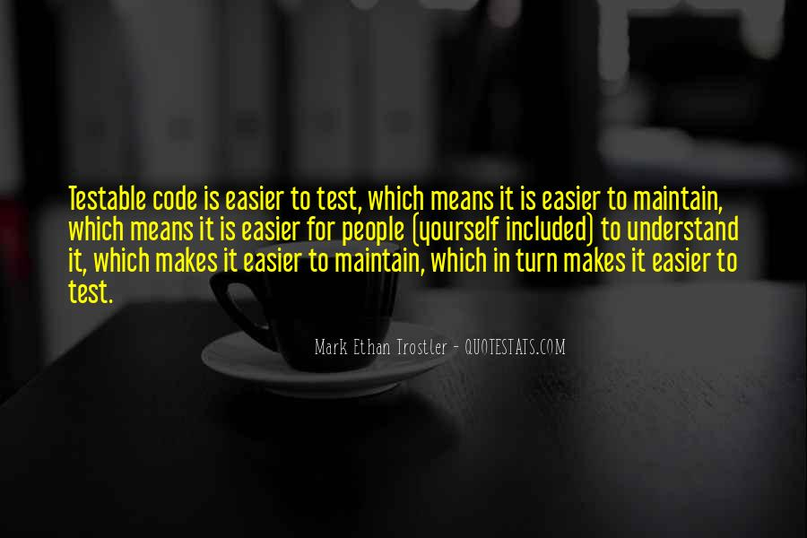 Mark Ethan Trostler Quotes #541130