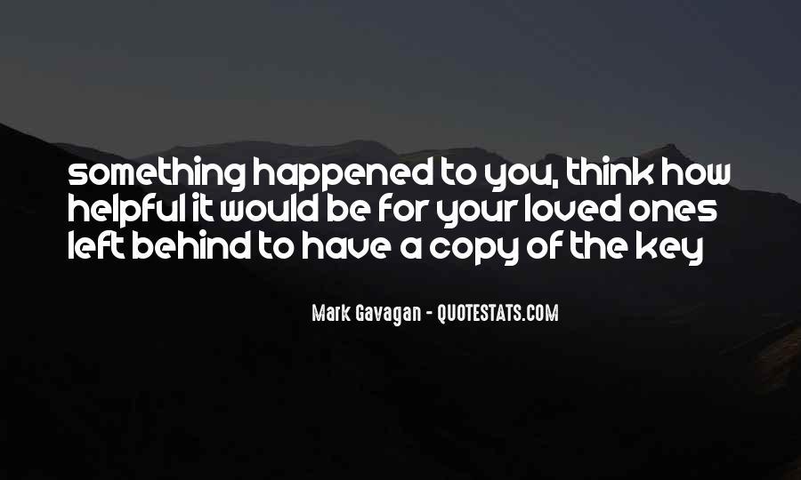 Mark Gavagan Quotes #904160