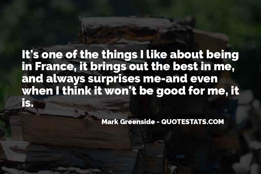 Mark Greenside Quotes #783576