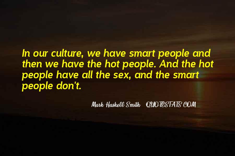 Mark Haskell Smith Quotes #850045