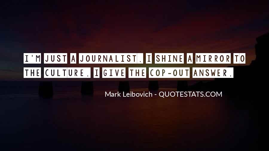 Mark Leibovich Quotes #41989